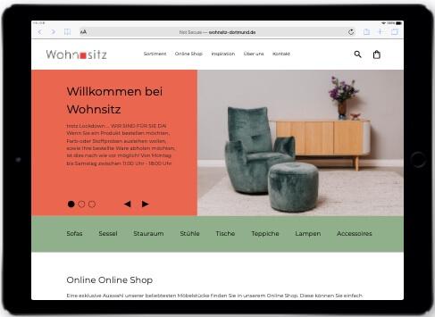 Wordpress Woocommerce Referenz Wohnsitz Dortmund